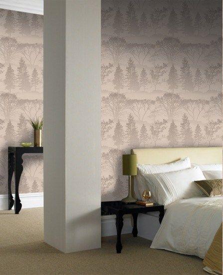 Mirage Wallpaper Designer Beige Wall Coverings by Graham