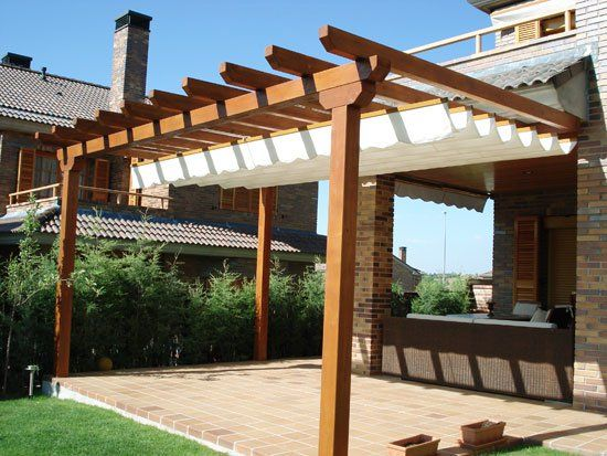como proteger el area de trasera de la casa - Buscar con Google - terrazas en madera