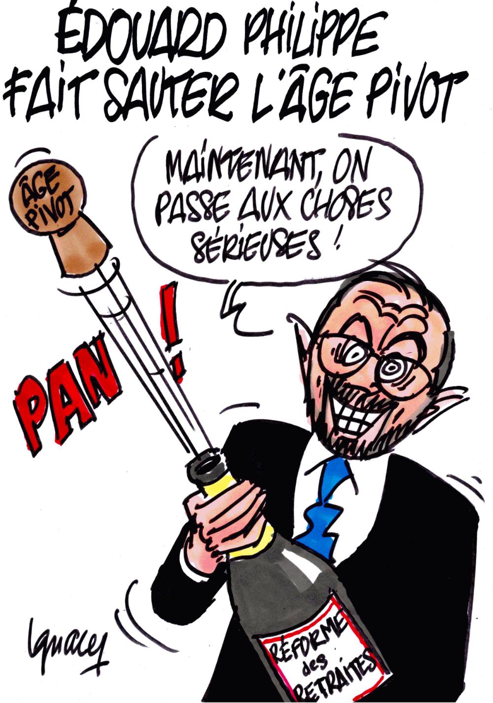 Ignace Édouard Philippe fait sauter l'âge pivot en 2020