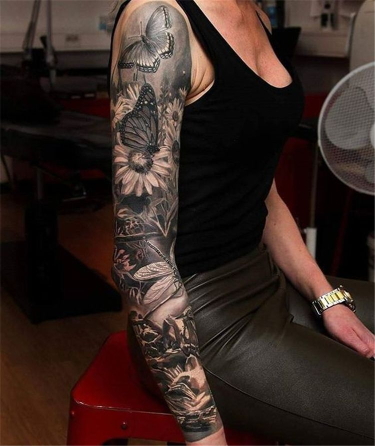 Awesome Sleeve Tattoos For Women Which You Will In Love With Awesome Sleeve Tattoos Sleeve Tattoo Sleeve Tattoos For Women Sleeve Tattoos Best Sleeve Tattoos