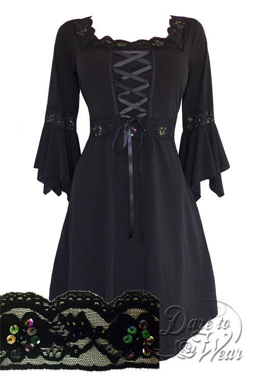 Dare To Wear Victorian Gothic Women's Plus Size Renaissance Corset Dress Starling
