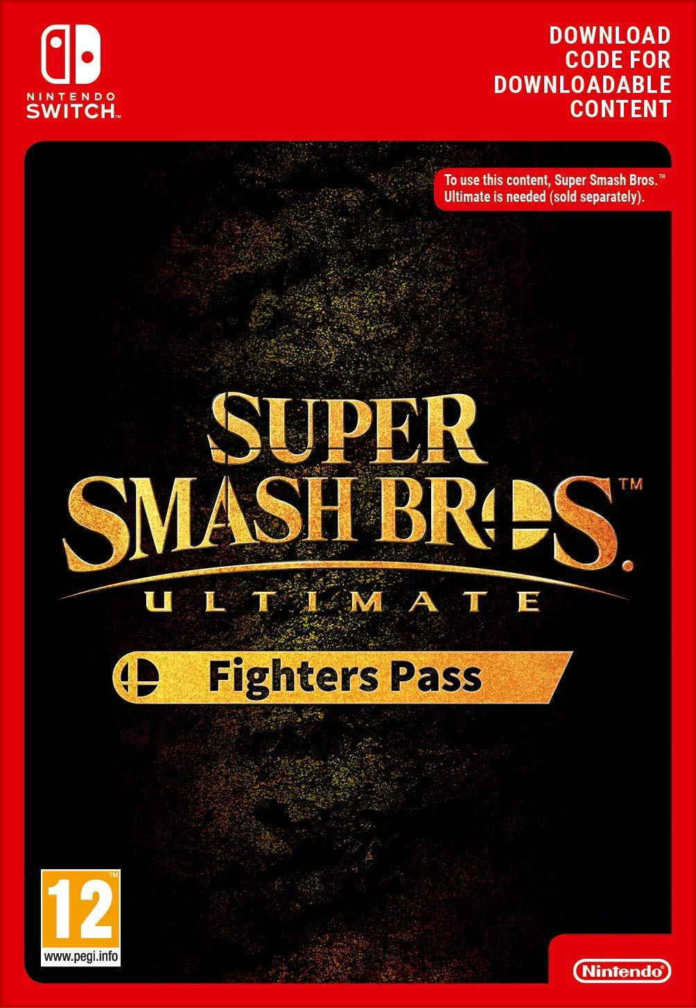 Super Smash Bros Ultimate Fighters Pass Switch Download Code