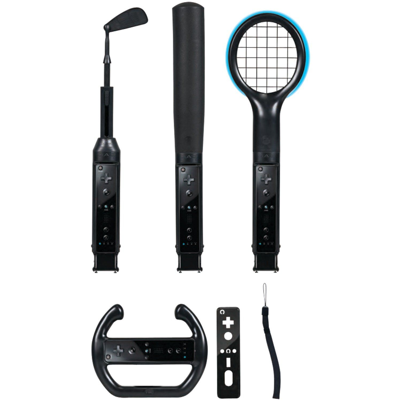 CTA Digital Wii Grand Slam Sports Pack (Black),Wii,