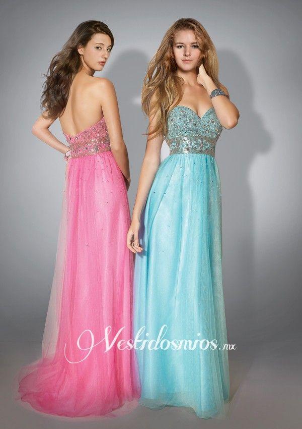 Strapless Vestidos de Noche | Vestidos de novia y acesorios ...