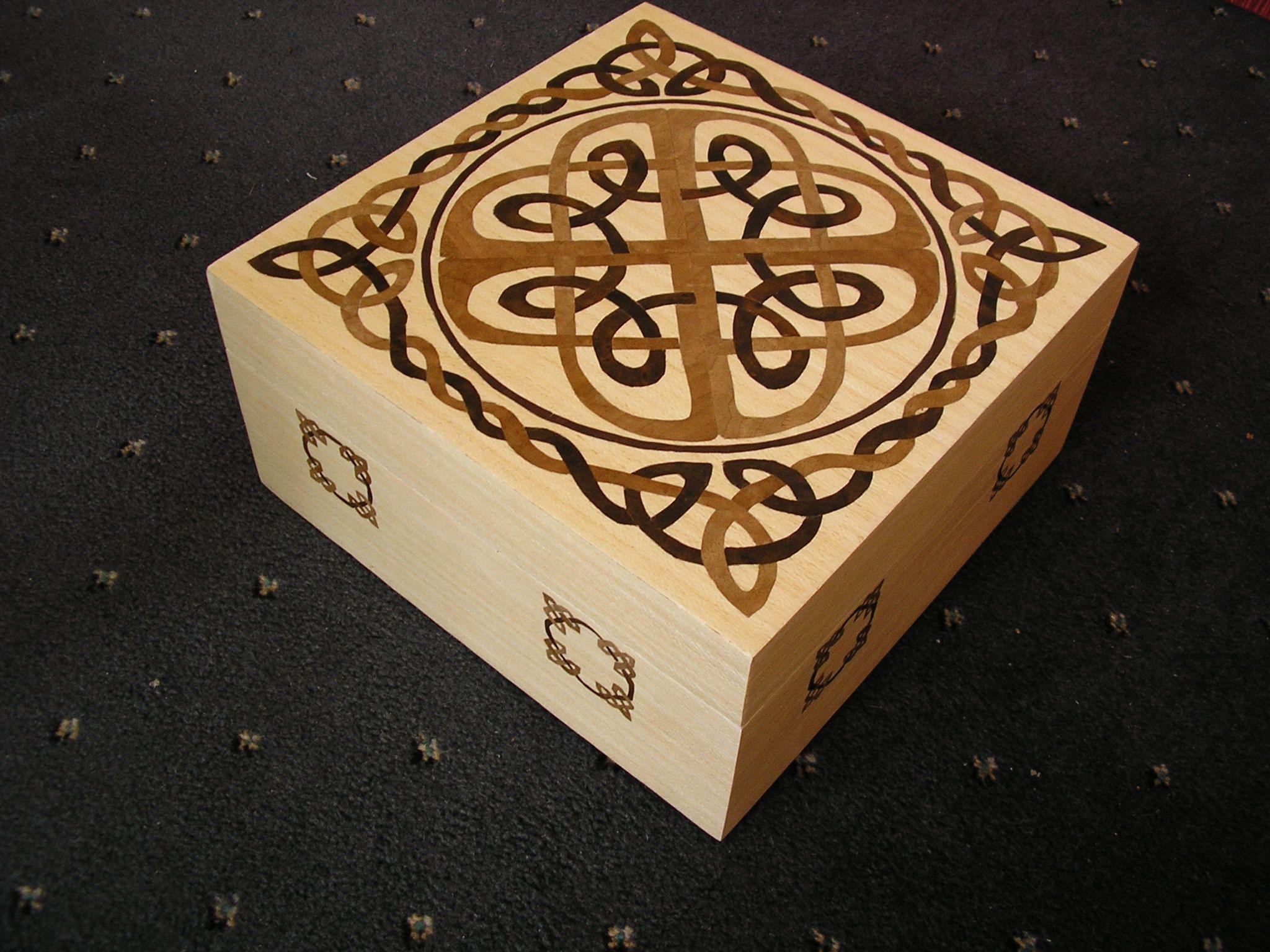celtic knot box Celtic patterns, Celtic knot, Celtic