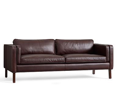 Delicieux Austin Leather Sofa #potterybarn