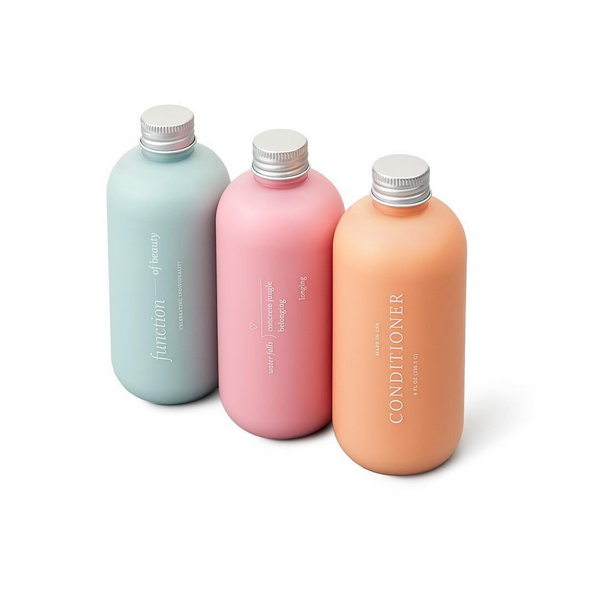 You've Got To See These Monogrammed Shampoo Bottles