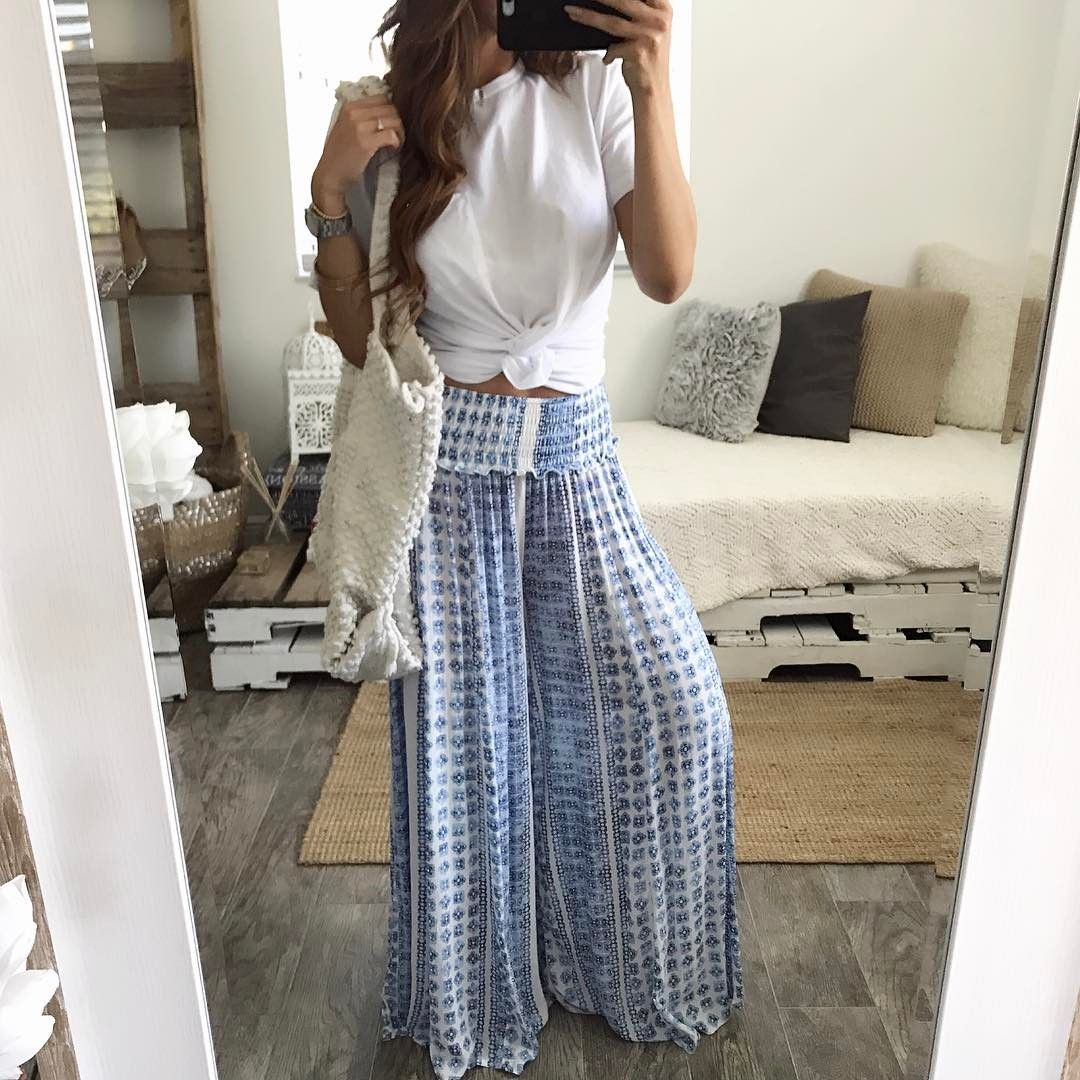 "813 Likes, 6 Comments - Theres no place like ૐboutique (@ohmboutique) on Instagram: ""Monday blues  Santorini pants + Dani crop || instore & online || #ohmboutique.com"""