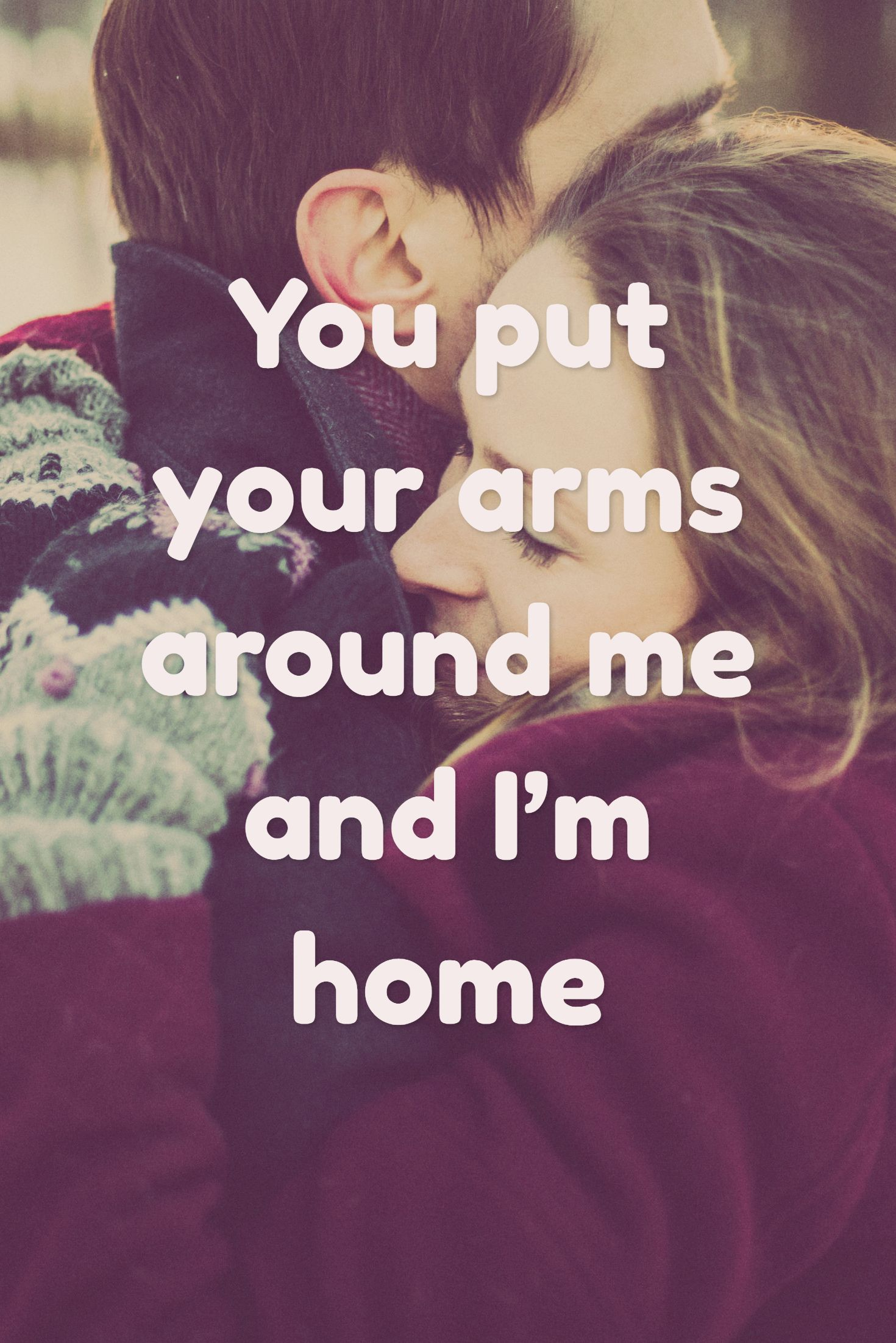 you put your arms around me and im home 100 more short text love messages for him in the post