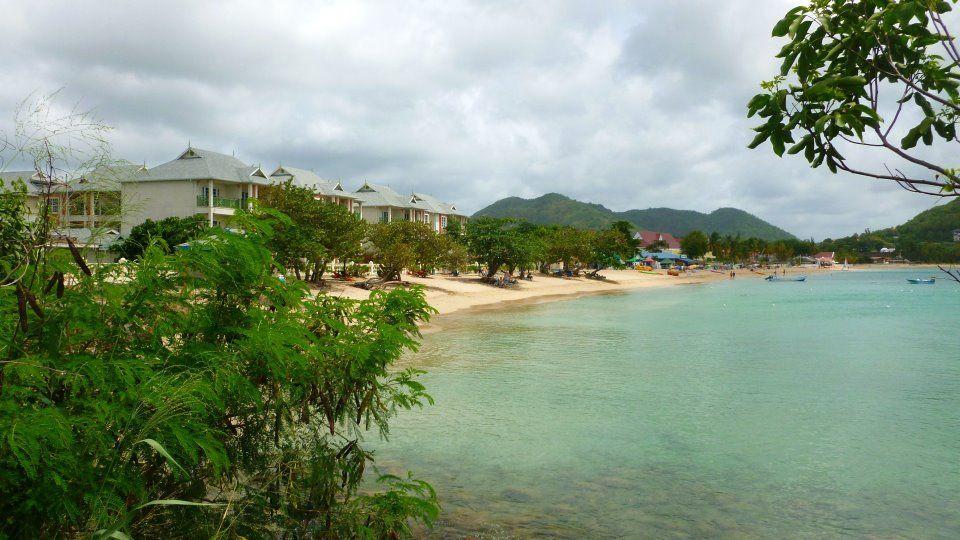 Bay Gardens Beach Resort On Reduit Beach, St. Lucia.