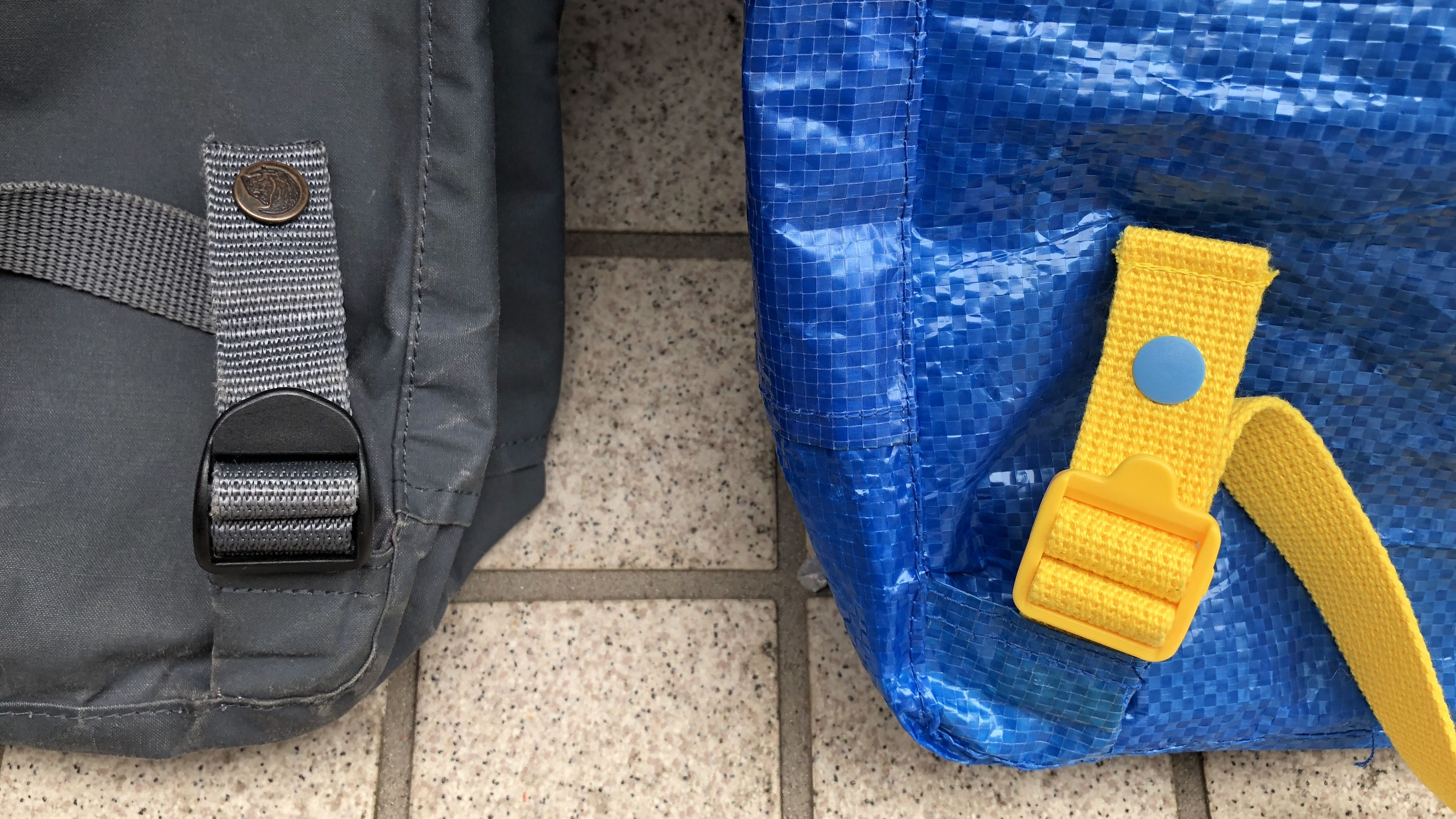 Ikea Backpack Kanken Backpack Knockoff Verypurpleperson In 2020 Stoffe