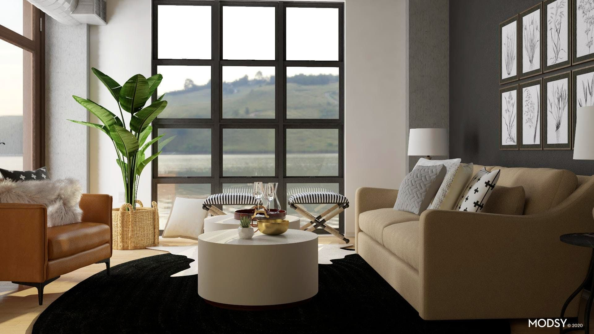 Design Ideas And Styles From Modsy Designers In 2020 Transitional Style Living Room Living Room Designs Transitional Living Room Design #transitional #design #living #room