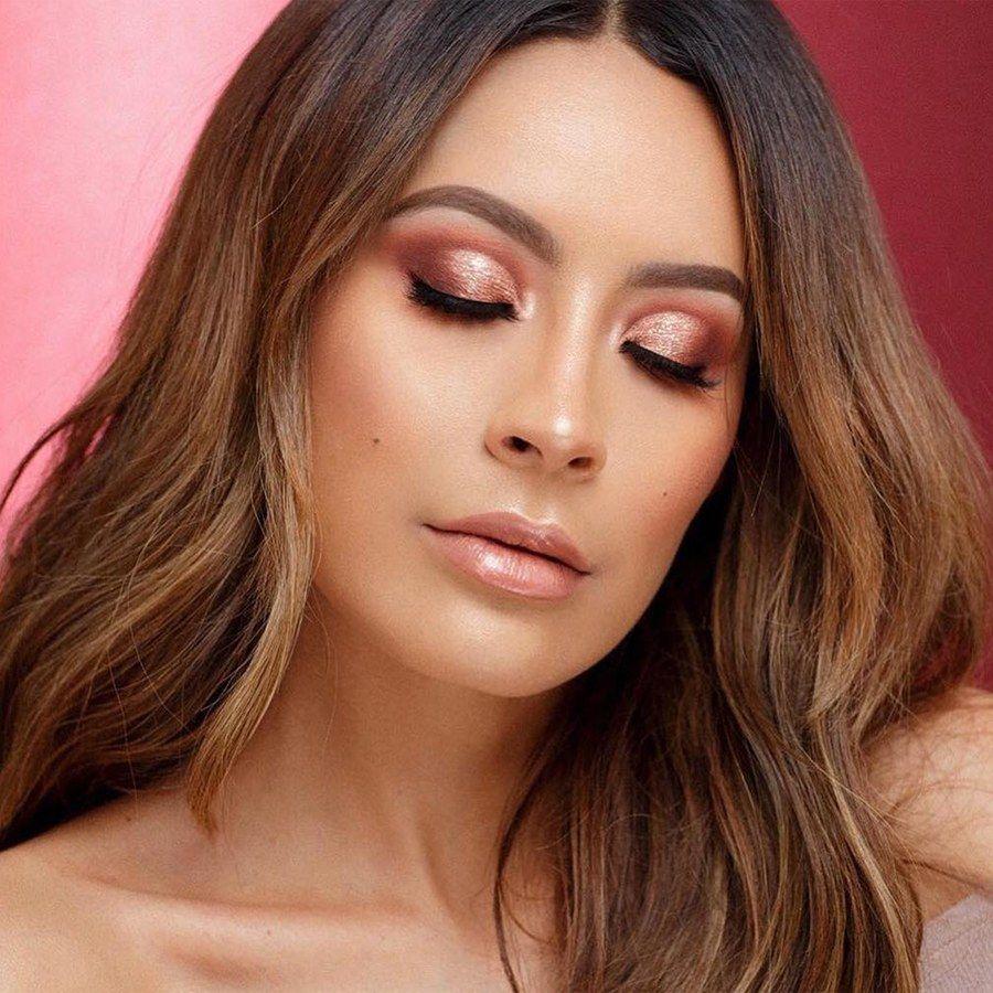 Rose-Gold Makeup Ideas 2018 - Eye Shadow, Highlighter, Lipstick | Allure -   12 hair Rose Gold make up ideas