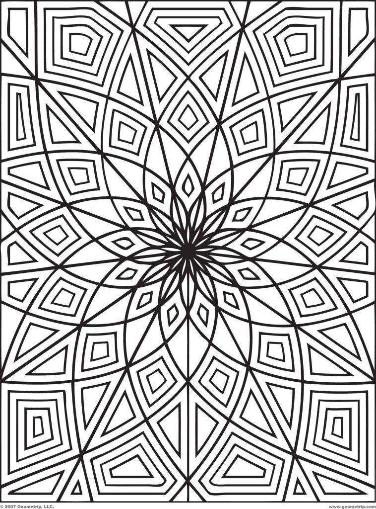 Páginas para colorear gratis para adultos 17 | mandalas | Pinterest ...