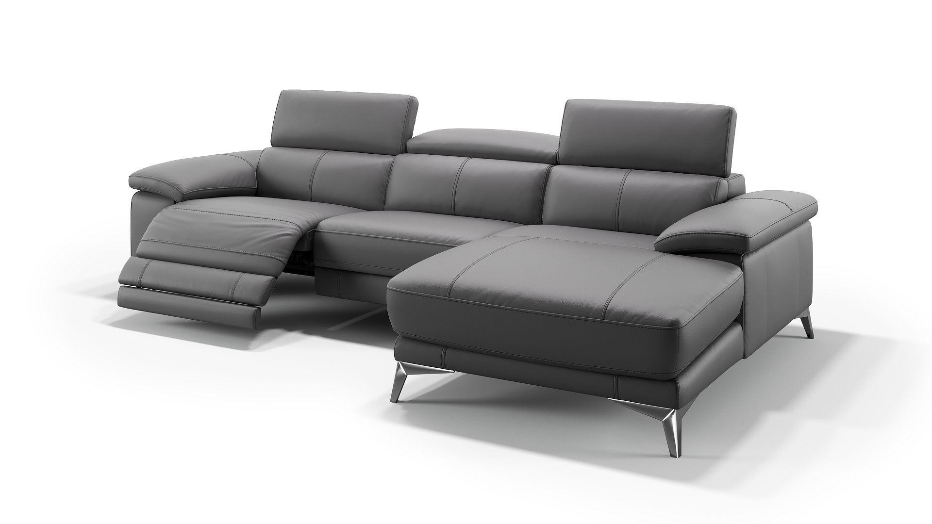 Eine Wohnlandschaft Aus Leder Schafft Einen Coolen Wohlfuhlfaktorn Wohnlandschaften Sind Mit Einer Extra Grosse Moderne Couch Sofa Mit Relaxfunktion Couch Mobel
