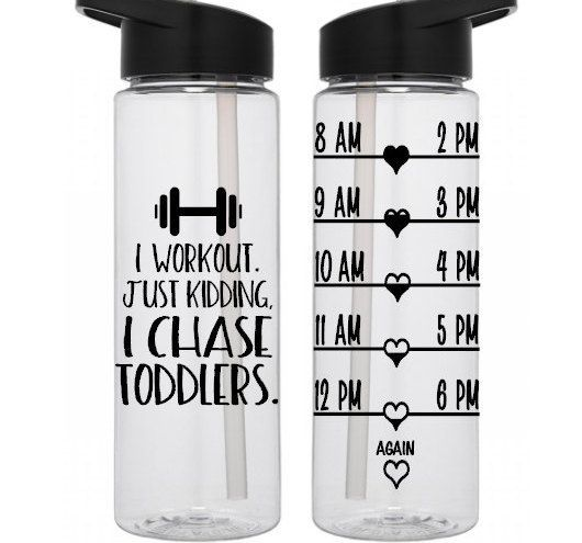 Water Intake Bottle 21 Day Fix Water Tracker Bottle I Chase Toddlers Water Bottle Motivation Bpa Free Workout Wate Yoga Water Bottle Water Intake Bottle Bottle