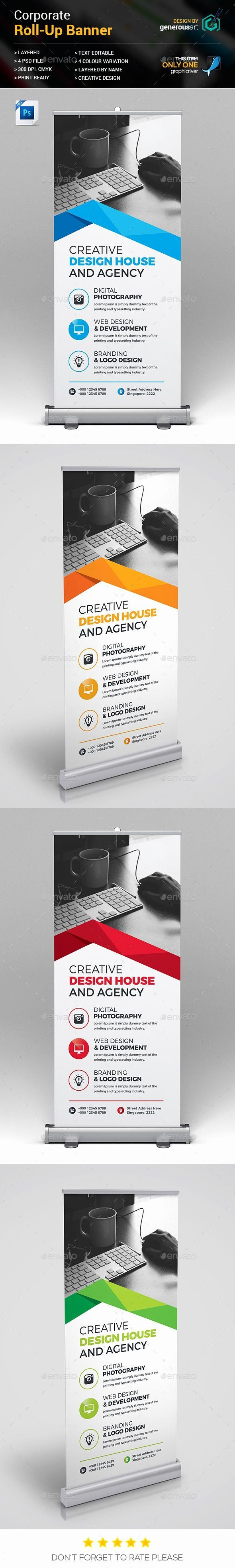 Roll Up Banner Template Awesome 1342 Best Roll Up Banner Templates Images On Pin...