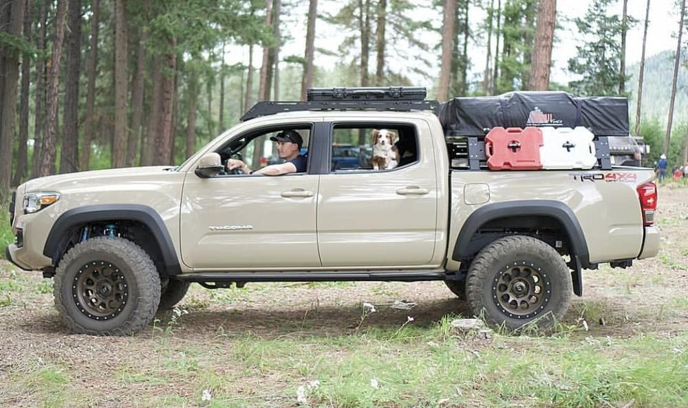 2005 2020 Toyota Tacoma Overland Bed Rack In 2020 Toyota Tacoma Accessories Tacoma Accessories Toyota Tacoma