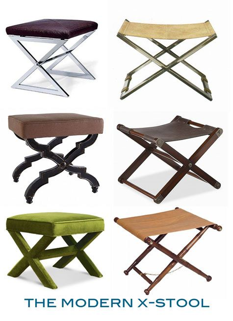 Past Present The Curule Stool For Anouk Pinterest Stool