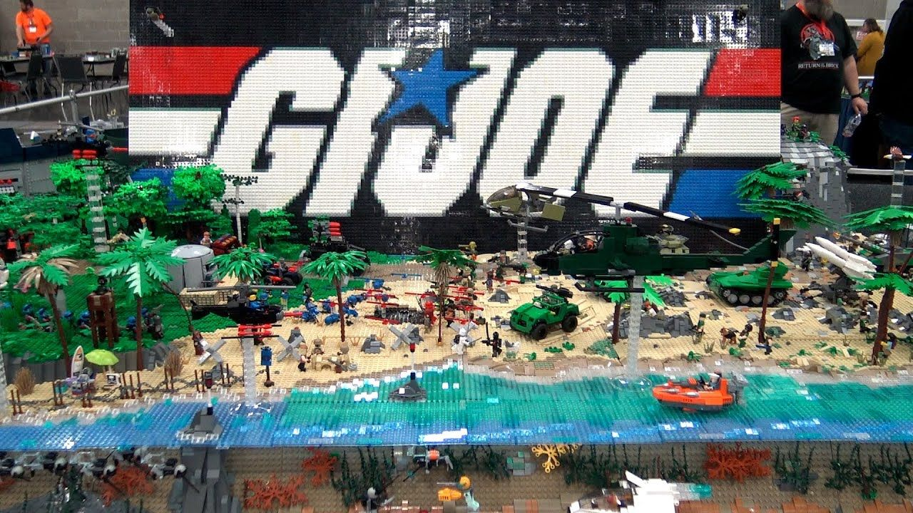 G.I. Joe Vehicles in LEGO - Tanks, Airplanes, Boats & More