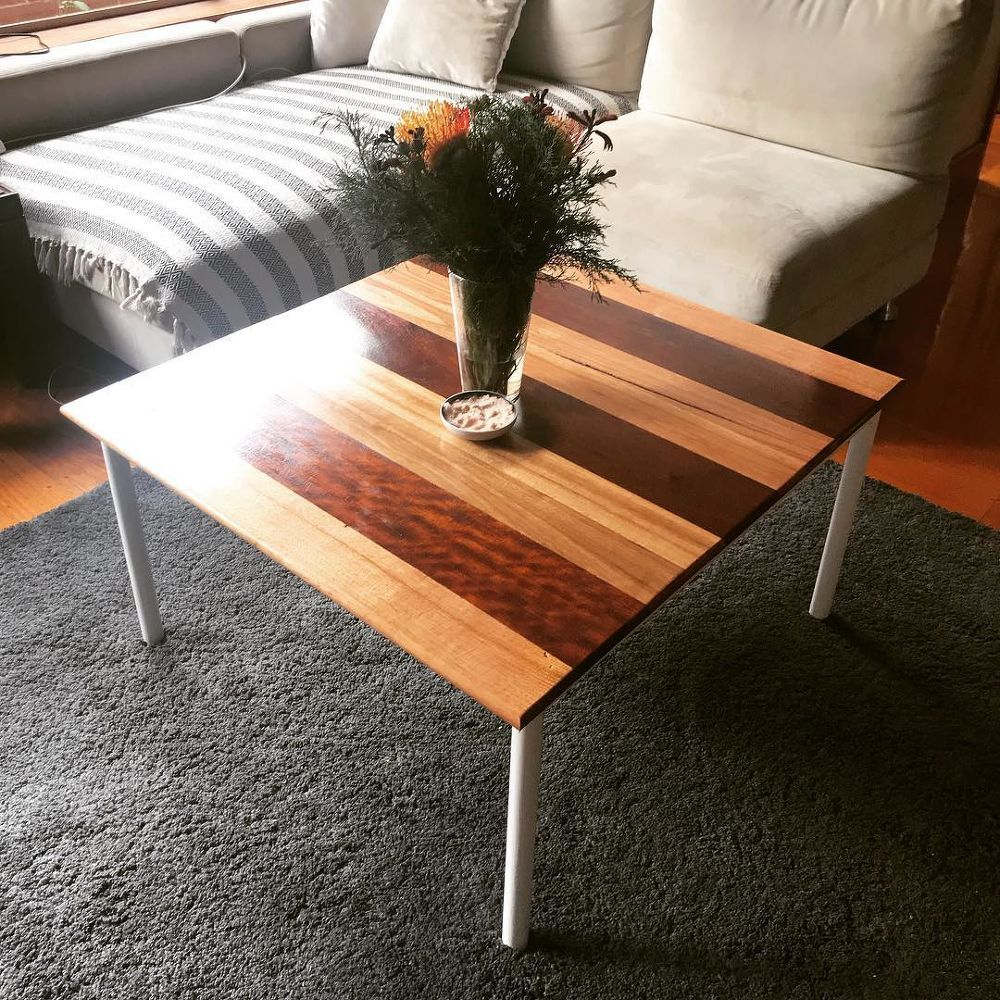 Two Tone Decking Coffee Table Coffee Table Coffee Table Upcycle