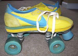 Rare Vintage Nike Waffle Runners Roller Skates 70s Disco Ladies 9 5 Hot Gift Vintage Nike Roller Skates Vintage Nike Waffle