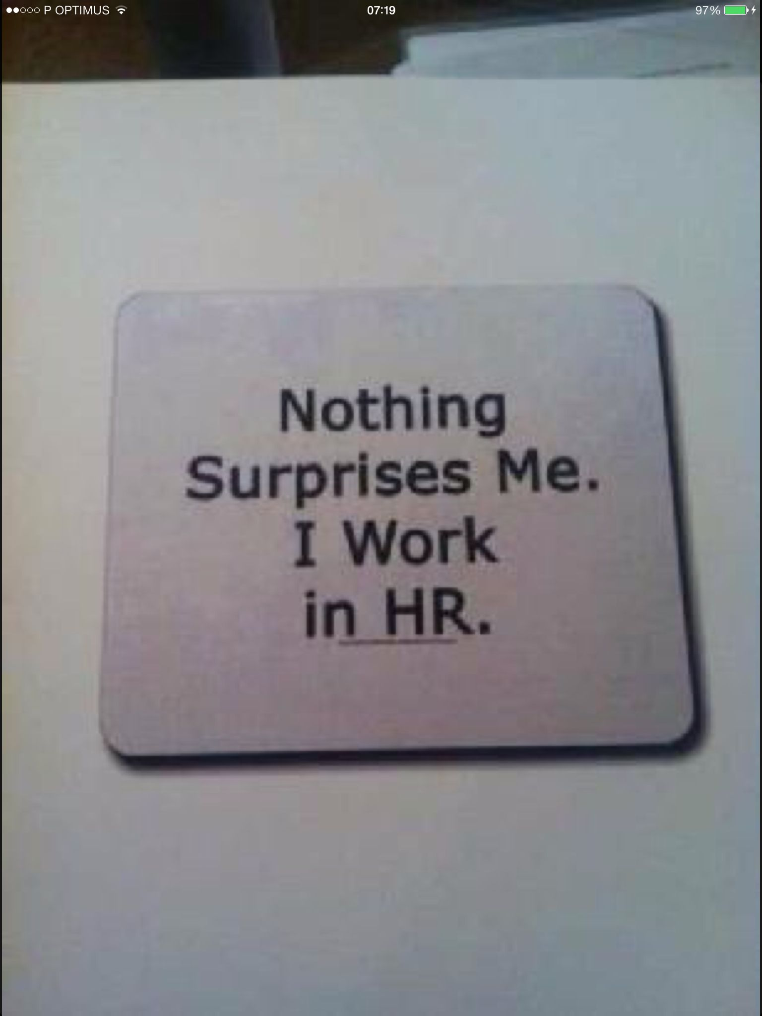 Nothing Human Resources Quotes Hr Humor Human Resources Humor