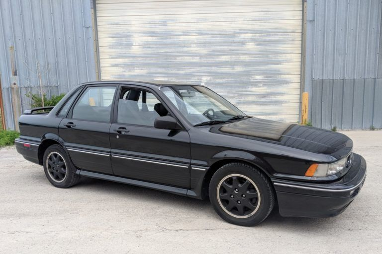 Modified 1991 Mitsubishi Galant Vr 4 In 2020 Mitsubishi Galant Mitsubishi Black Leather Seating