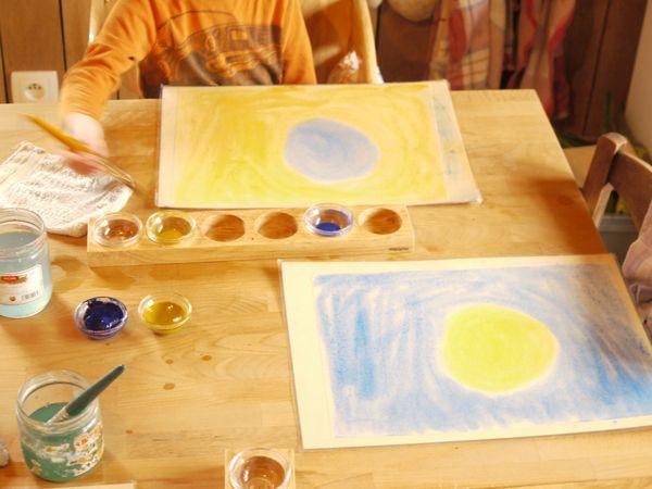La Creation Du Monde Jaune Bleu Bleu Jaune Les Complementaires
