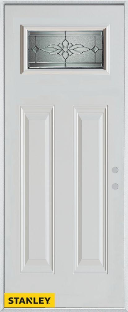32 Inch X 80 Inch Victoria Classic Rectangular Lite 2 Panel White