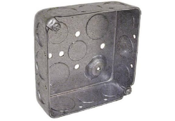 Steel Drawn Corners Square Box Metal Electrical Box Steel Metal News