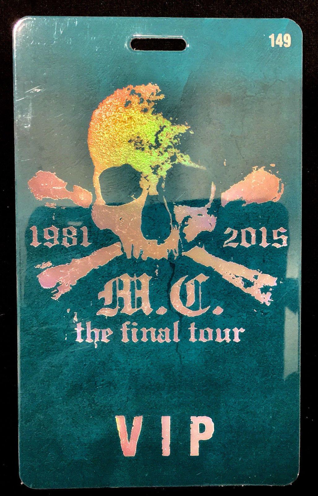 Cool Motley Crue Vip Tour Laminate Backstage Pass Final Tour 2015 Check More At Http Harmonisproduction Com Motley Crue Vip Tour Laminate Bac Motley Crue