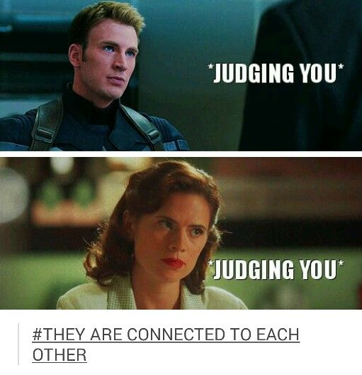 JUDGING YOU #steve rogers #peggy carter | Captain's ...