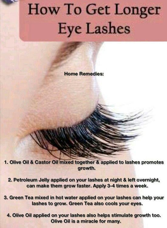 Long Eyelash Remedy Ingredients: - Vaseline (Petroleum Jelly) How ...