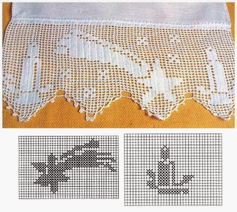Ideas de adornos navideños / patrones y paso a paso   Crochet y Dos ...