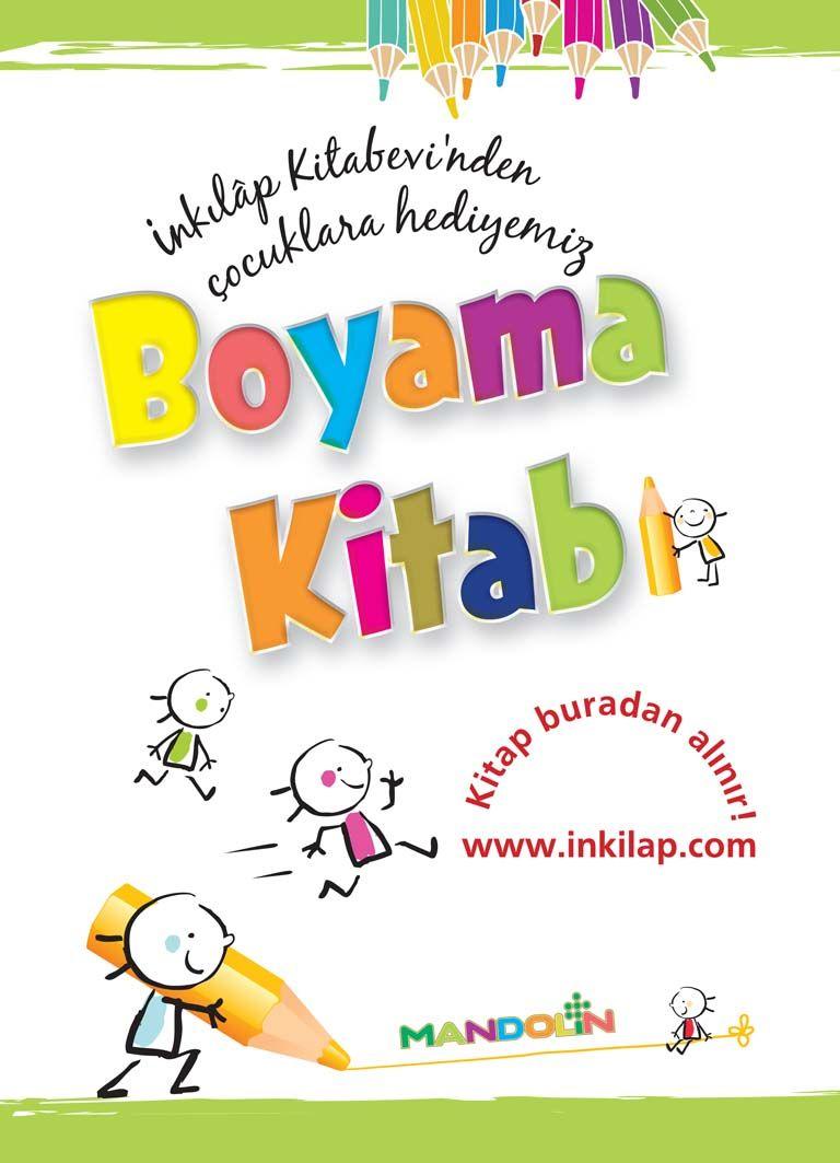Graphic Designer Derya Balci Boyama Kitabi Publishing House Inkilap Kitabevi Mandolin Kitap Boyama Kitaplari Mandolin