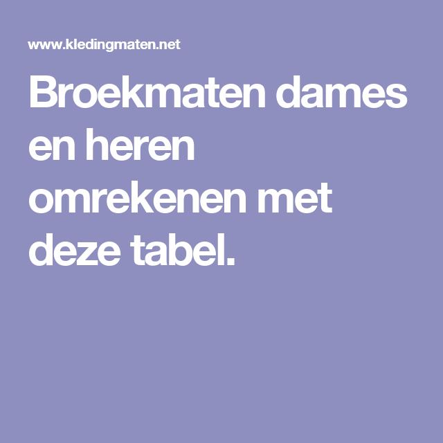 10081dc8d81a56071ce92856b4b7e583 - Heren Broek Maat 46 Omrekenen