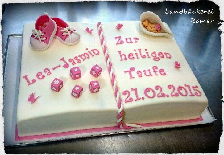 Christening Cake  Torte  Buch Zur heiligen Taufe  Marina Rmer by Landbckerei Rmer  Cake