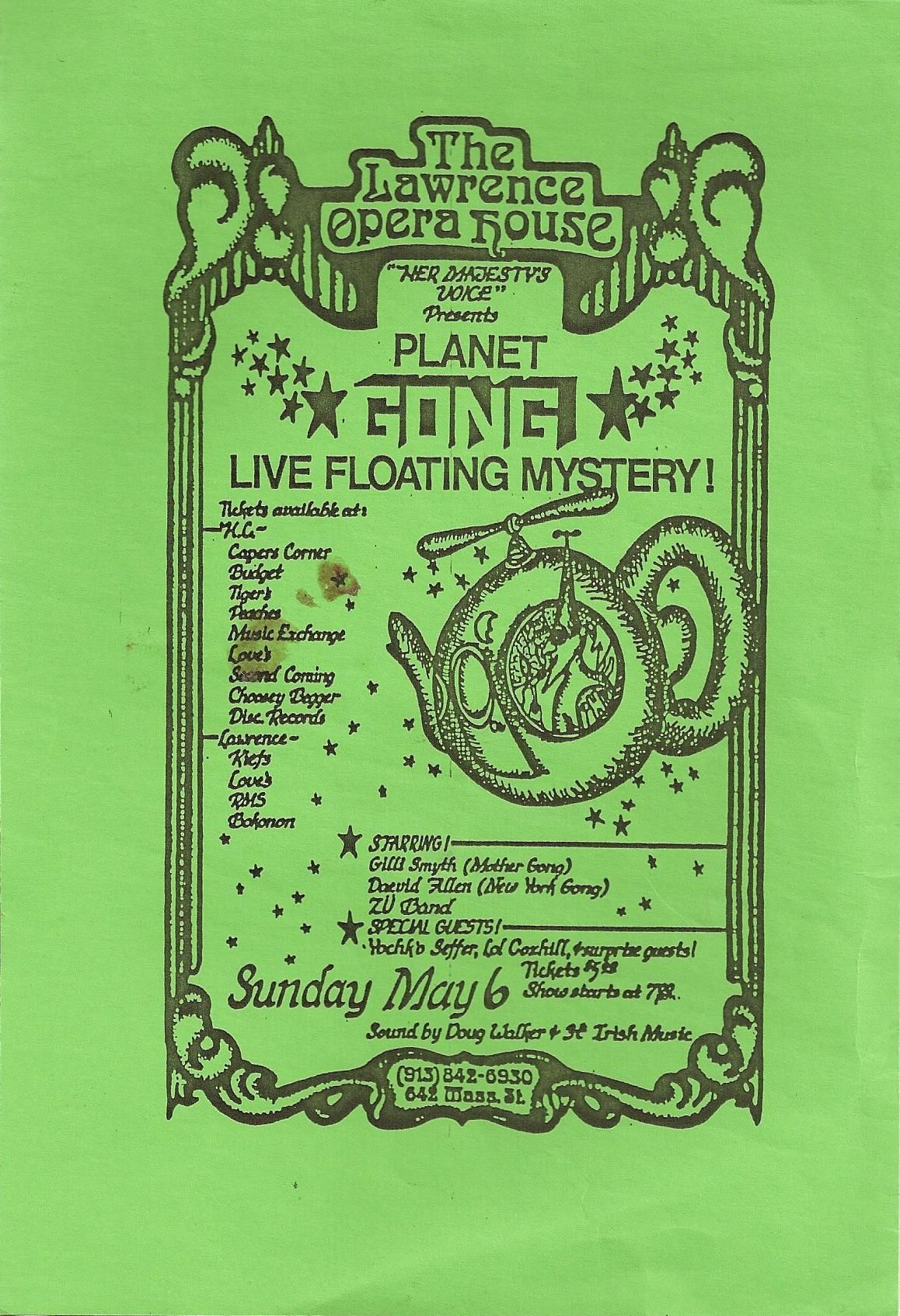 Mother Gong With Special Guest Tom the Poet Live 1991