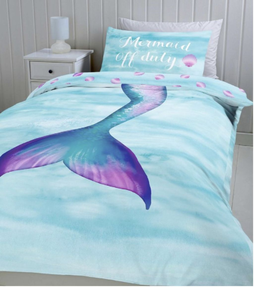 40 Cute And Beautiful Mermaid Themes Bedroom Ideas For Your Children #mermaidbedroom