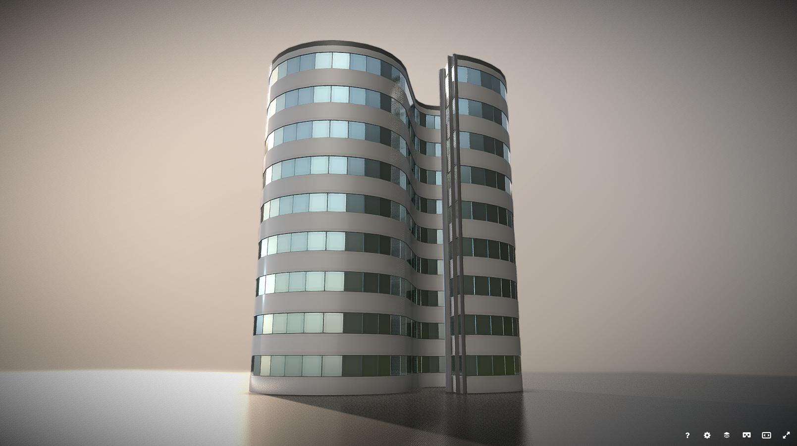 City Building Design S 1 On Sketchfab Building Design City Buildings Design