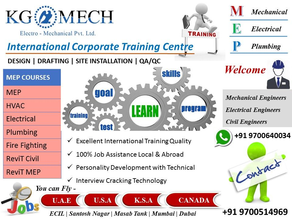 Top And Best Training Placement Centre 100 Job Training Placement Assistance Mechanical Engineers Ele Civil Engineering Job Training Corporate Training