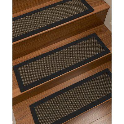 Best Winston Porter Badgley Custom Sisal Stair Tread Carpet 640 x 480