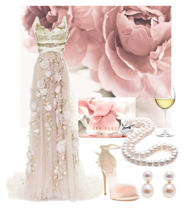 pink gown by aries-indonesia on Polyvore featuring polyvore fashion ...