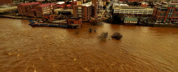 Flood-related road closures across the Chattahoochee Valley
