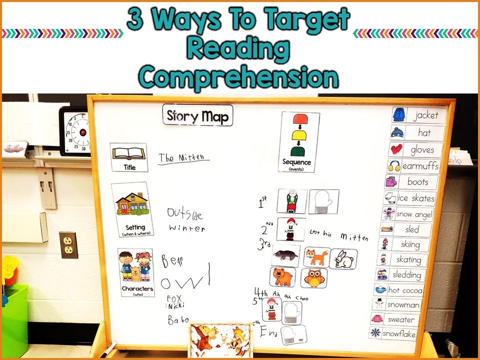 Special Education Is Really Tough >> 3 Ways To Target Reading Comprehension In Special Education