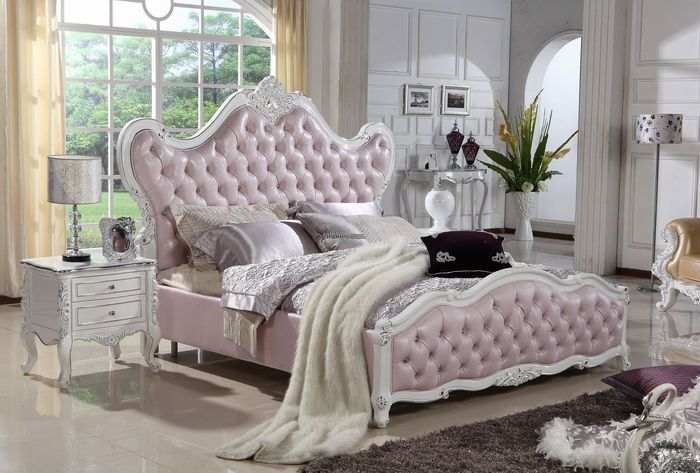 Classic White Bedroom Furniture Intended Silver Rococo Headboard Neo Classic White Bedroom Furniture Royal European Rococo Bed Set