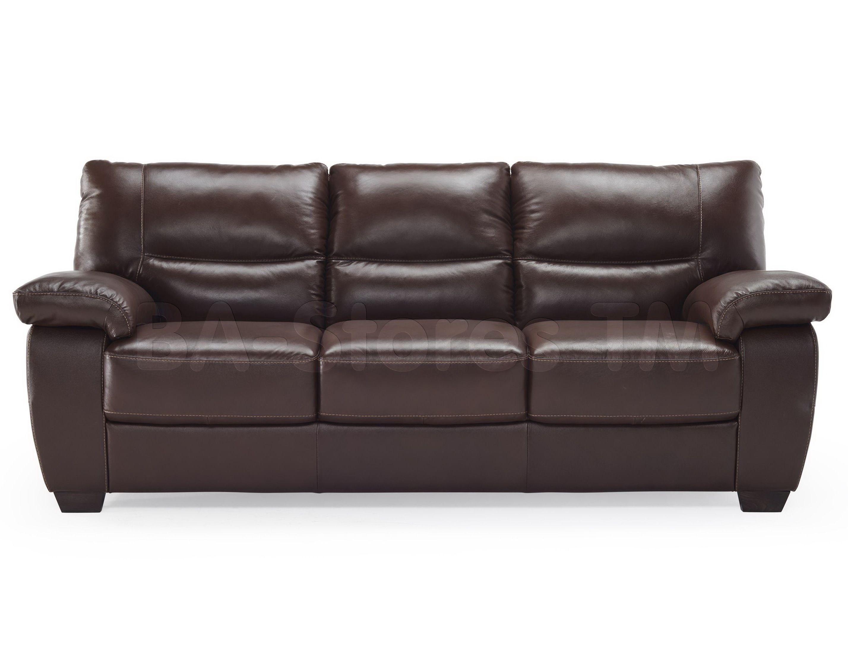 Natuzzi Editions Leather 3 Cushion Sofa B870 | Natuzzi Group ...