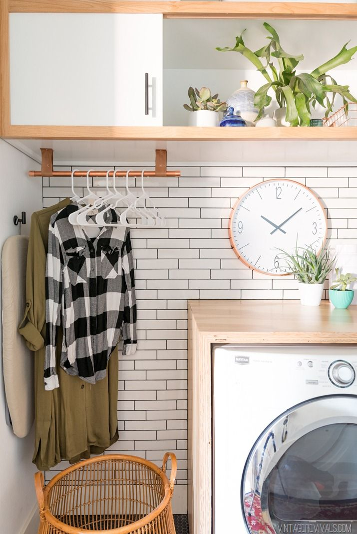 Lessons I Learned While Installing Subway Tile Cause I'm an Idiot. #laundryrooms