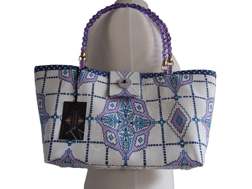 Cloth bag fabric purse fabric handbag shoulder bag